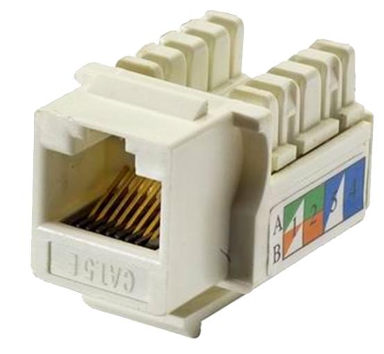 conectores conector rj45 hembra